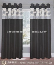 new design luxury ready made pencil pleat window curtain