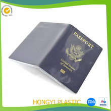 Plastic Passport Cover Passport Protector transparent Plastic holder Clear Waterproof PVC Passport Case Sleeve Card Holder Cover