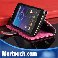 stand phone case for Lg google nexus 4 e960 flip mobile phone case for for Lg google nexus 4 e960 book style cell phone case
