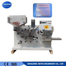 Drinking straw cold cutting and packing machine