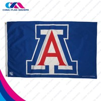 cheap custom made sport wholesale decoration flag