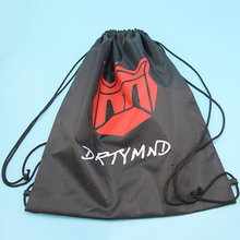 custom promotional cute sublimation kids drawstring bag