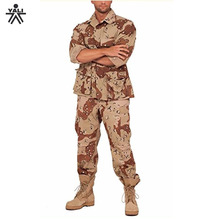 Top quality duarable comfortable fitness plain polyester air force military uniform