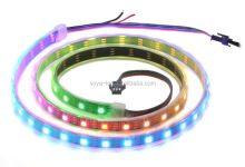 Integrated ws2812b addressable pixel digital led tape 60 pixels