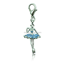 Promotional Items Charm Rhinestone Key chain Beautiful Hot Dancing Girls Key chain