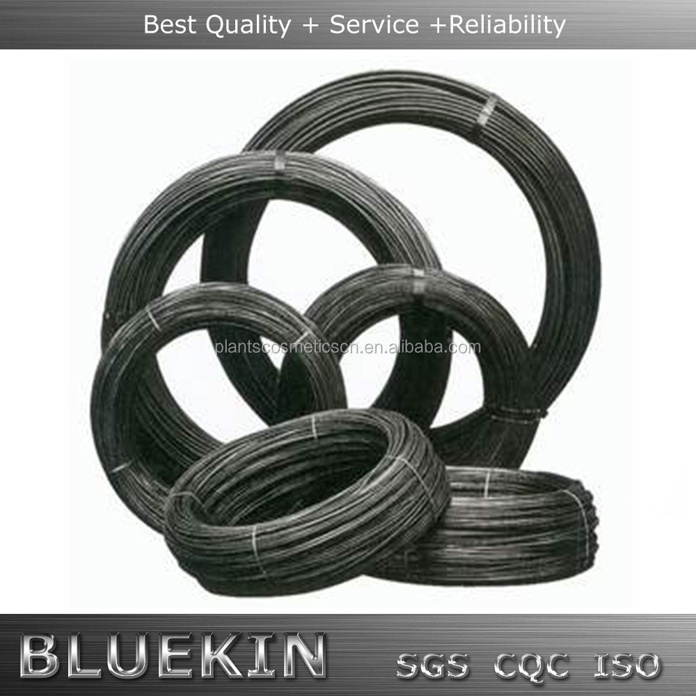 50-100kg BWG SWG big roll binding black annealed wire