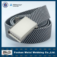 Fabric Resilience Webbing Belts With Logo