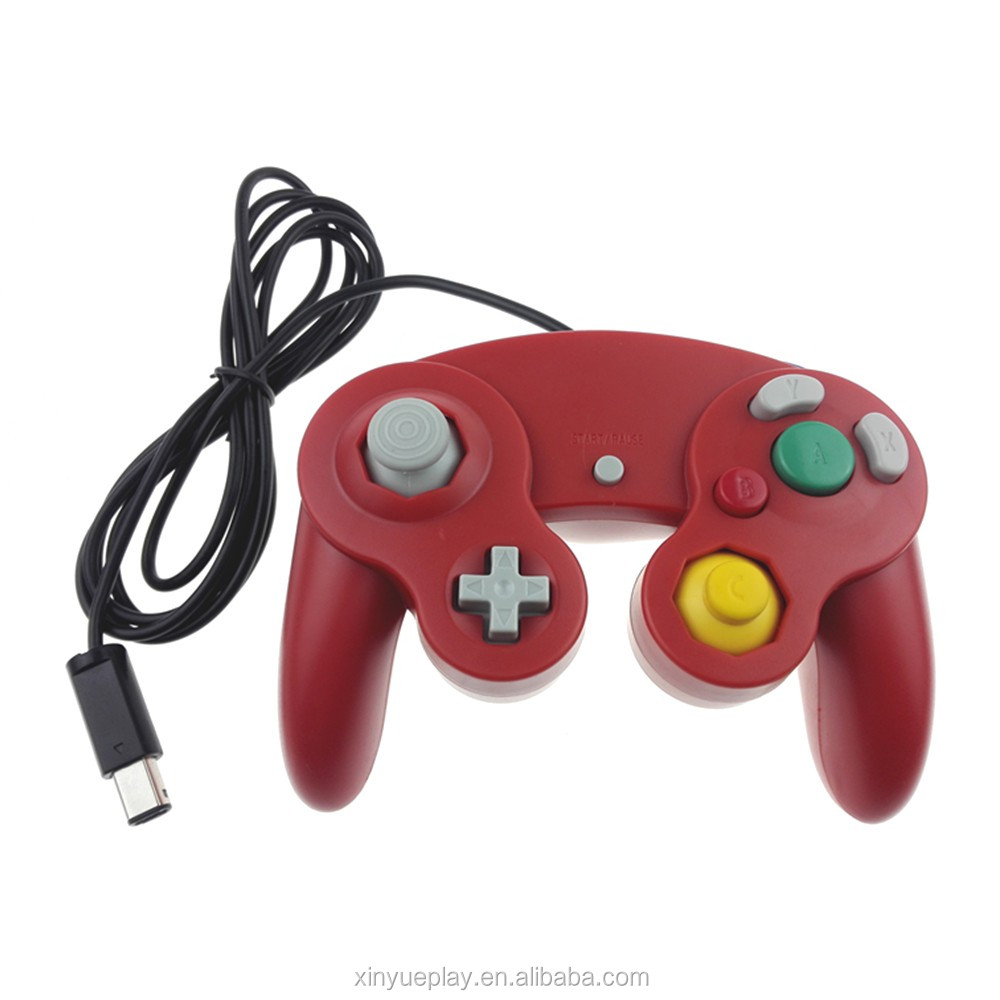 Stock available red gamepad for Nintendo gamecube <strong>controller</strong>