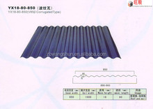 painted waved roofing tile/Corrugated Sheet Metal Roofing/ metal roofing building materials