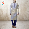 Printing Shalwar kameez design Standing Collar Mens Kurta Handmade Pure Cotton latest Kurtas custom kurta pajama designs 2017