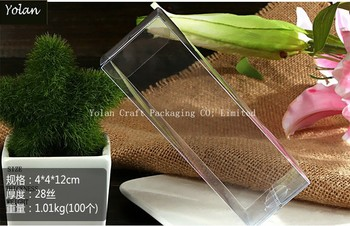 2015 Small clear gift box, pvc waterproof electrical box, clear box PVC