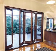 Cheap interior wood heavy folding door