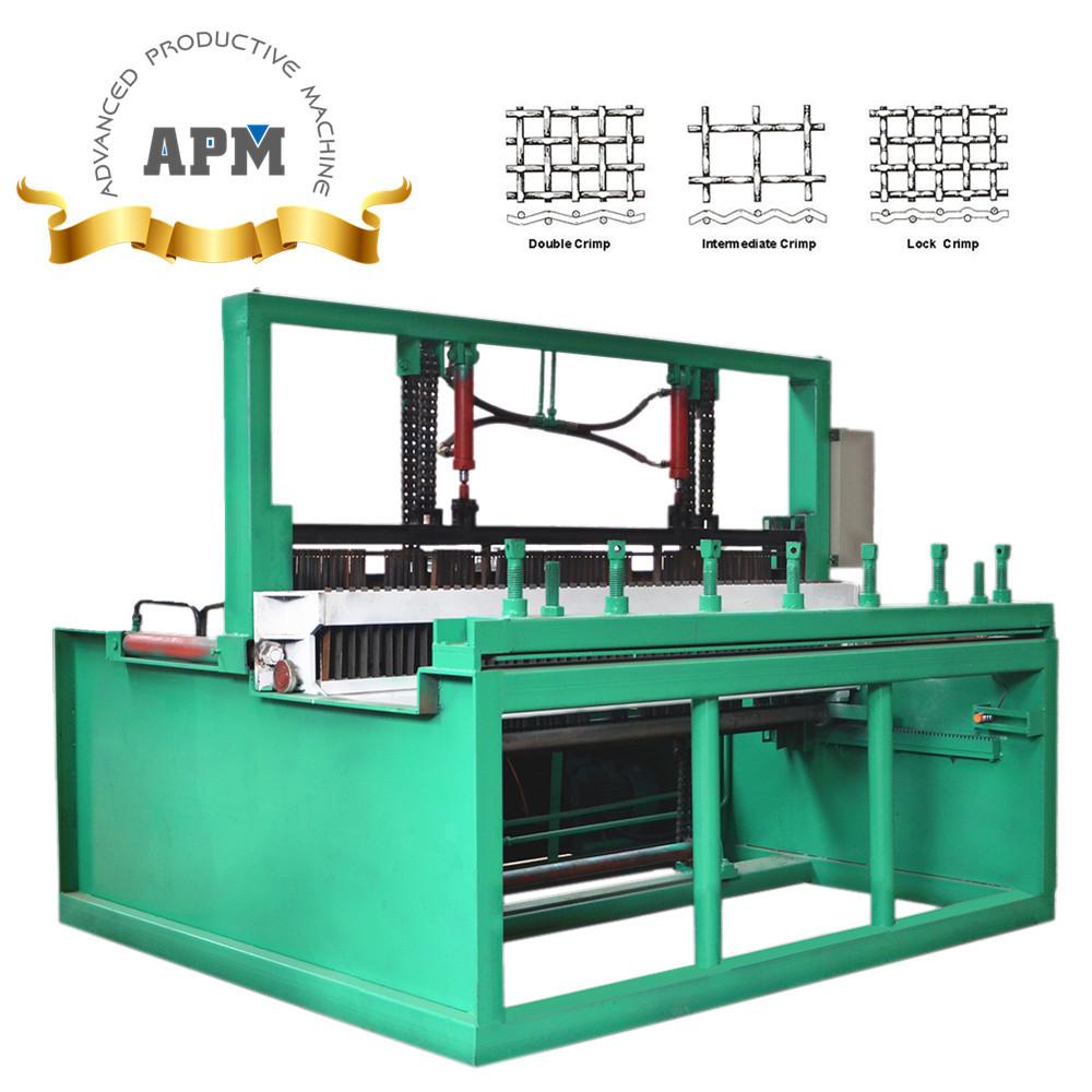 Mine Sieving Mesh Weaving Machine/crimped Wire Mesh Machine ...