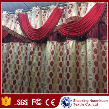 China suppliers woven custom window curtains window curtain