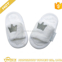 Five Star Hotel Good Quality Disposable EVA Open Toes Slippers for Baby