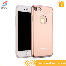 2017 trending products metal bumper frame silicon tpu shockproof cases for iphone 6 metal case