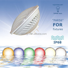 300w 500w replacement gx16d base 36w 54w par56 led pool light lamp 12v 120v 230v for swimming pool fountains