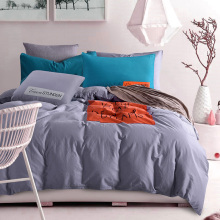 top quality modern cotton microfiber applique work designs for bed sheets