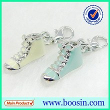 Alloy Metal Sports Running shoelace charm wholesale charm pendant #16856