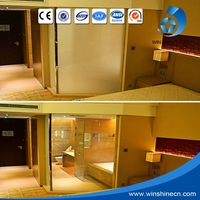 2016 Electronic Opaque White Switchable Window Film/ Decorative Electric Privacy Glass Film/ Windly Used Pdlc Smart Film