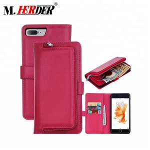 Manufacture wholesale cheap hot sell luxury real leather phone case and wallet case