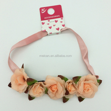 Artificial rose flowers accessories wedding decoration for girl