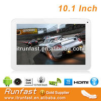 10 inch Tablet PC 10 Points Capacitive Multi-touch Screen 1.6GHz CPU 1G RAM tablet With Dual Camera,G-Sensor