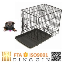 Folding convenient puppies wire mesh dog crate