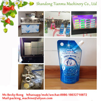 Filling And Sealing Machine For Standup