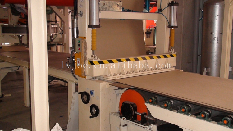 Automaticlly gypsum/plaster of Paris board manufacturing plant