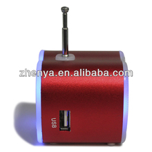 Best Selling sound zone mini speaker With LED light/LED display