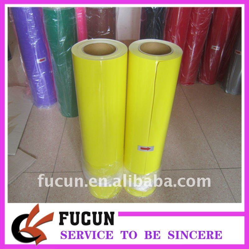 Yellow color wholesale PU heat transfer film
