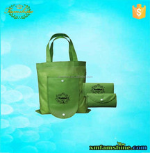 promotional shopping foldable nonwoven bag