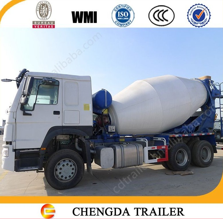 2016 new right hand driving cement mixer truck HOWO 12cbm concrete mixer
