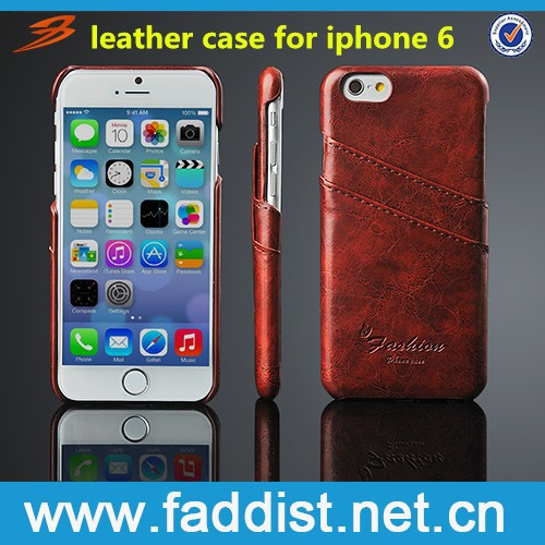 hot selling pu leather mobile phone case for apple iphone 6s