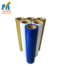 Wholesale Good Quality Colorful PU , PVC And Flock Heat Transfer Film Rolls For Cotton Fabric