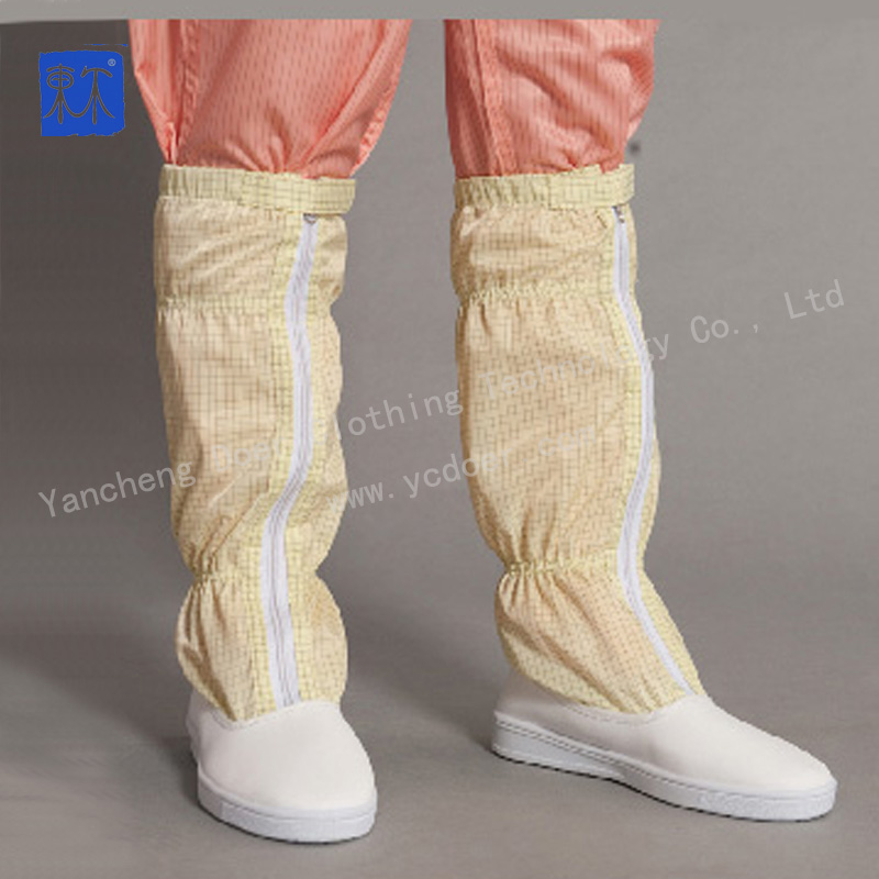 pharmaceutical dust free room antistatic boots