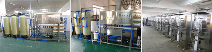 Automatic complete drinking spring water production line