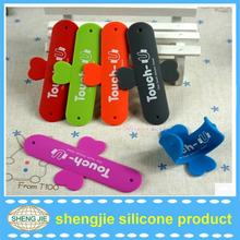 mobile phone stand One Touch U silicone mobile phone stand