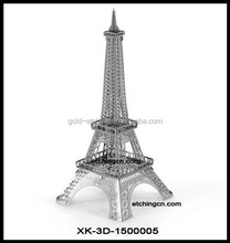 2017 Hot the factory price eiffel tower 3d model, 3D model, 3d free model