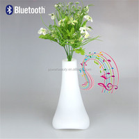 2015 small bluetooth speaker with remote controled flash LED hot sale stereo bluetooth mini speaker vase new speaker