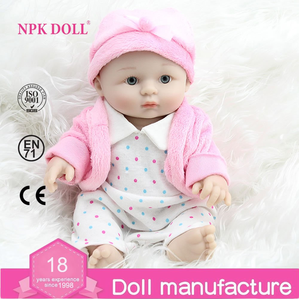 8 Inch Mini Reborn Baby Doll Cheap Silicone Baby Dolls For