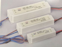 LPC-100-1050 90-264vac single output plastic enclosed waterproof led driver power supply constant current 1050mA 48-96v 220v