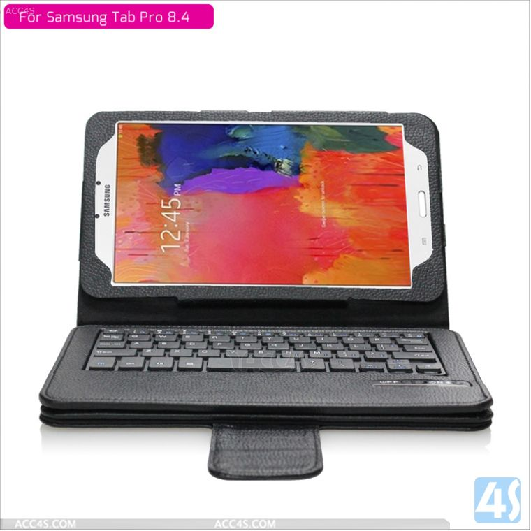 Bluetooth keyboard case for samsung galaxy tab pro 8.4 P-SAMT320PUKB002