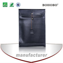 file bag style leather sleeve for Macbook Pro 13 inch wholesale