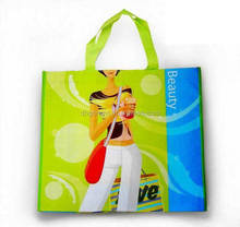 eco laminated nonwoven promotional beach bag,custom waterproof cloth bag