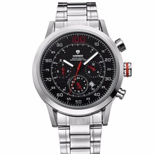 WEIDE Slim Watch Japan Mov't Stainless Steel Watch Elegance Quartz Watch