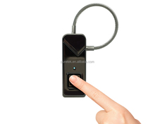 Best Christmas Gift Biometric padlock Replaces key with fingerprint for Cabinet,Locker,Suitcase with fingerprint seccurity key