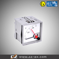 IECEx&ATEX Rail Type & Back Type Explosion-proof Ammeter Voltmeter mA-meter