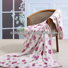 Large Supply Polyester Ultra Soft Coral Fleece Blanket